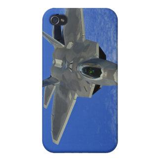 A US Air Force F-22 Raptor in flight near Guam iPhone 4 Case