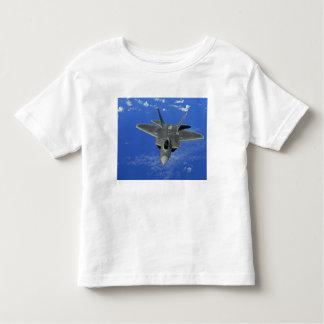 A US Air Force F-22 Raptor in flight near Guam Toddler T-shirt
