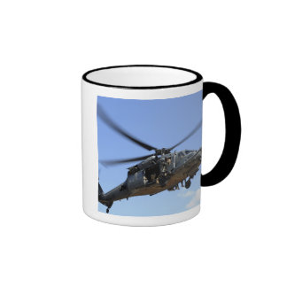 A US Air Force HH-60 Pavehawk Ringer Coffee Mug
