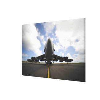 A US Air Force maintenance crew Canvas Print