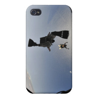 A US Air Force pararescueman jumping out iPhone 4/4S Case