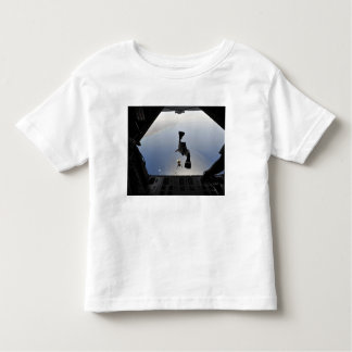 A US Air Force pararescueman jumping out Toddler T-shirt