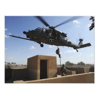 A US Air Force Pararescuemen Photograph