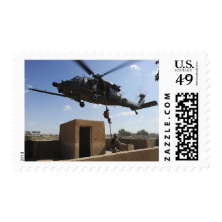 A US Air Force Pararescuemen Postage Stamp