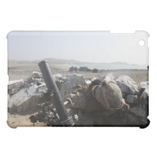 A US Marine fires a mortar in Salinas, Peru iPad Mini Case