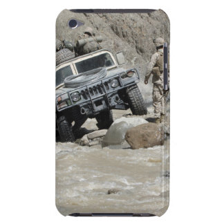 A US Marine guiding the driver of a Humvee Barely There iPod Cover