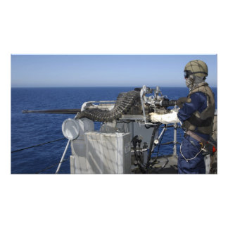 A US Navy Gunner s Mate Photographic Print