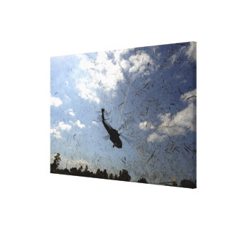 A US Navy HH-60 Seahawk Canvas Print