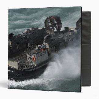 A US Navy Landing Craft Air Cushion Binder