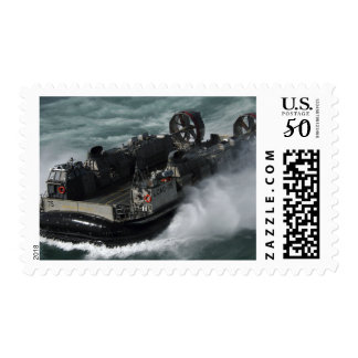 A US Navy Landing Craft Air Cushion Postage