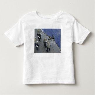 A US Sailor fires a 50-caliber M2HB Toddler T-shirt