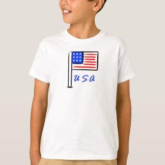 A USA Flag T-Shirt