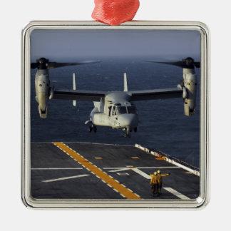 A V-22 Osprey aircraft prepares to land Ornaments