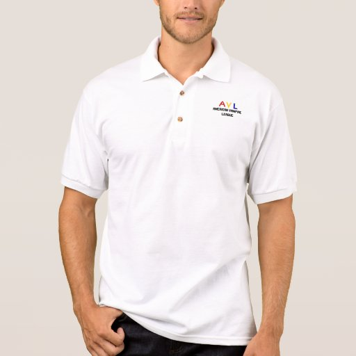 A, V, L, American Vampire League Polo Shirts