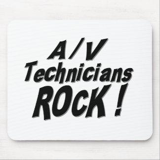 A / V Technicians Rock! Mousepad