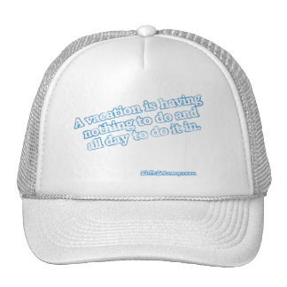 a_vaction_is2 mesh hats