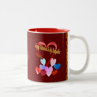 A Valentine For My Baby Sitter Two-Tone Coffee Mug