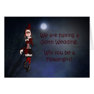 A Vampire card for a flowergirl request