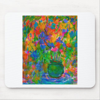 A Vase of Color Mouse Pad