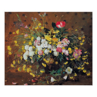 A Vase of Flowers Poster