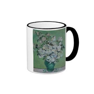 A Vase of Roses, 1890 (oil on canvas) Coffee Mug