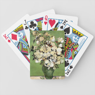 A Vase of Roses by Vincent Van Gogh Bicycle Playing Cards