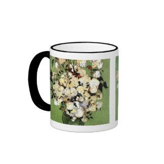 A Vase of Roses by Vincent Van Gogh Coffee Mug