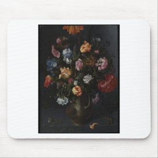 A Vase with Flowers Mouse Pad