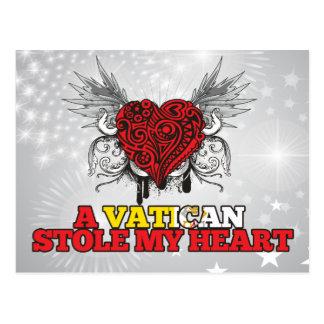 A Vatican Stole my Heart Postcard