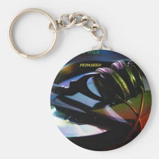 A VCVHRecords Inc Album By Michael Millis ''TAV2'' Keychain