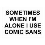 A veces cómico sin postal