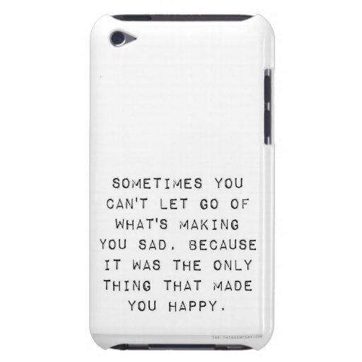 A veces. iPod Case-Mate cárcasas