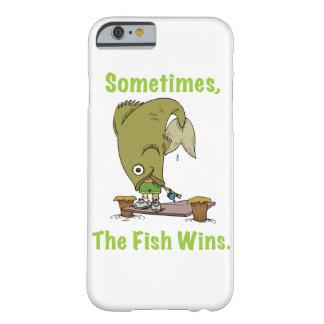 A veces los triunfos de los pescados funda para iPhone 6 barely there