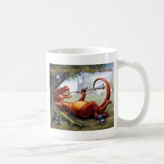 A veces los triunfos del dragón taza