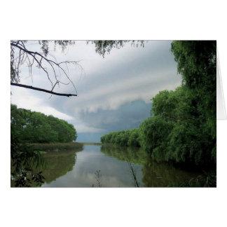 A veces una tormenta de paso… tarjeta pequeña