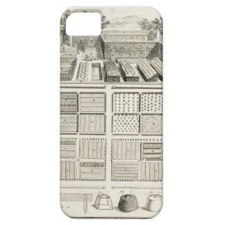 A vegetable garden, from 'The Encyclopedia of Scie iPhone SE/5/5s Case