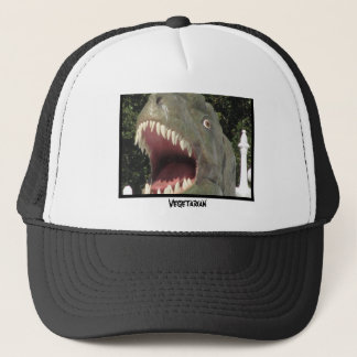 A Vegetarian Fish Trucker Hat