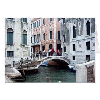 A Venetian bridge Card