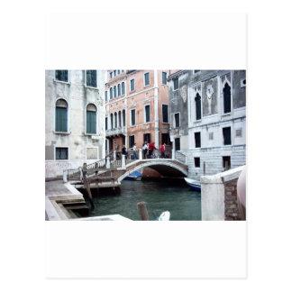 A Venetian bridge Postcard