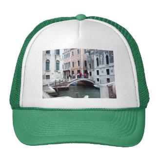 A Venetian bridge Trucker Hat