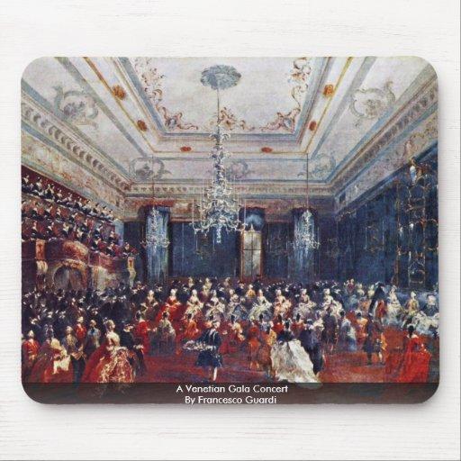 A Venetian Gala Concert By Francesco Guardi Mousepads