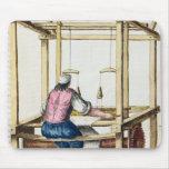 A Venetian Weaver Mouse Pad