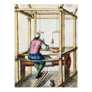 A Venetian Weaver Postcard