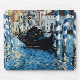 À Venise - Eduardo Manet del Gran Canal del Le Tapete De Ratones