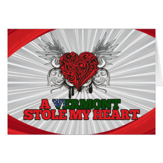 A Vermont Stole my Heart Card