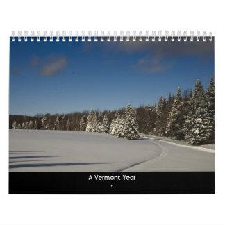 A Vermont Year Calendar