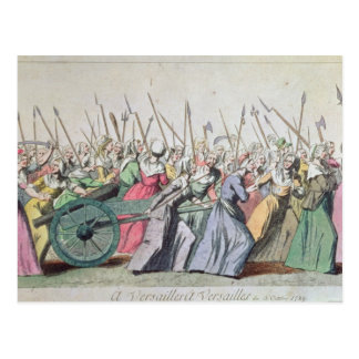 A Versailles, A Versailles' March of the Women Postcard