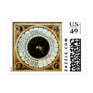 A VERTICAL SUNDIAL AND THE ENIGMA OF HOURS STAMP