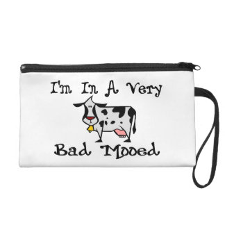 A Very Bad Mooed Wristlet