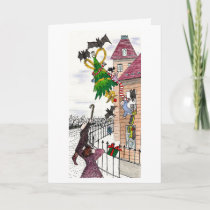 A Very Batty Christmas Holiday Card